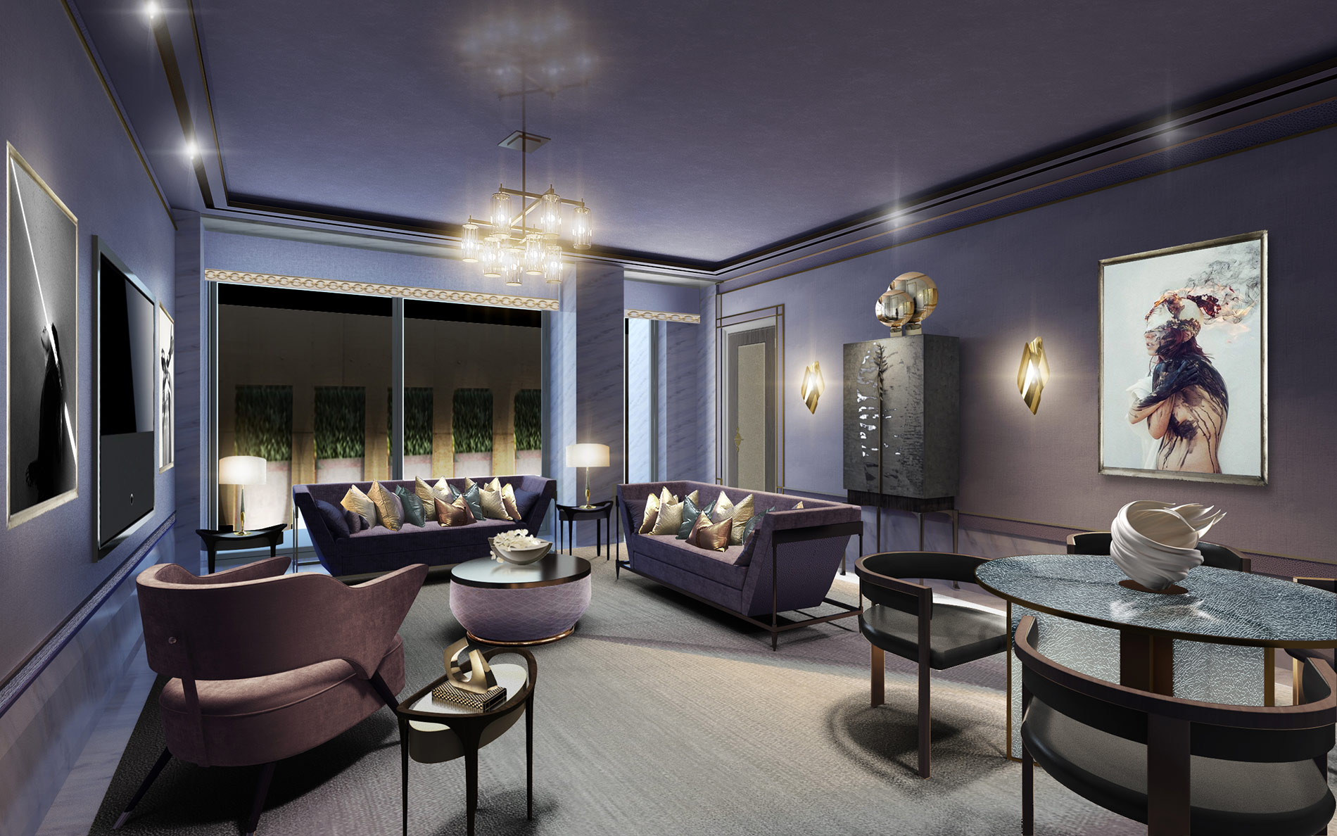 Conversion of  Grade II listed former casino into an ultra-luxury hospitality offering consisting of an 11 room boutique Hotel with ball room, restaurant, spa, cinema and night club.  Back to Portfolio